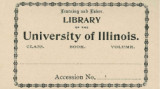 Library of the University of Illinois