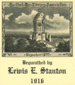 Hartford Bar Library Association, bequethed by Lewis E. Stanton