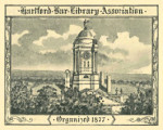 Hartford Bar Library Association, Organized 1877