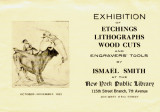 Exhibition of etchings, lithographs, wood cuts, and engravers tools