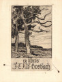 J. T. Alb. Hosbach, two trees 2