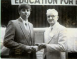 Max Tessler Wins Illinois Association of Vocational Agriculture Teachers Award 1984