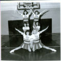 Lowpoint-Washburn Seventh-Grade Cheerleaders  1990