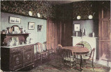 Postcard of Dining Room of Ulysses S. Grant Home in Galena