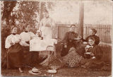 After-Tennis Tea Party at the home of Miss Lillie Turner