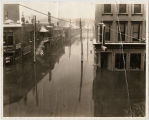 Flooding on Washington and Main Streets in Galena, Ill. in 1937