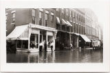 Flooding on Main Street in Galena, Ill in 1916