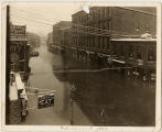 View of 1937 Galena River Flood on Main Street