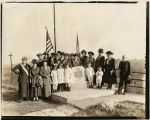Dedication of Stockade Monument in Galena by the D.A.R.