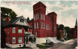 St. Michael's Church and Parsonage, Bench Street, Galena, Ill.