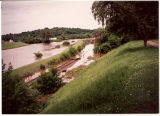 View of Galena River Flood of 1993 near Grant Park