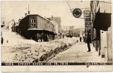 Snow on Main and Diagonal Streets, Galena, Ill. on January 18, 1910