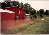 View of Galena River Flood of 1993 near Galena Manufacturing Company