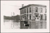 Flood of 1937 near the U. S. Post Office and Custom House in Galena, Ill.