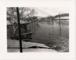Flood of 1937 on Riverside Drive in Galena, Ill.