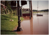 View of Galena River Flood of 1993 on Riverside Drive