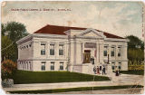 Postcard of the Galena Public Library in Galena, Ill.
