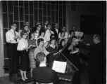 Concordia choral group and soloists, Springfield, Illinois