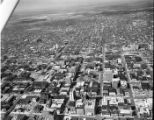 Aerial view, downtown Springfield, Illinois