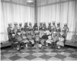 Kindergarden class, Christ the King School, Springfield, Illinois