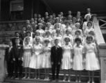 Graduating class, St. Agnes School, Springfield, Illinois