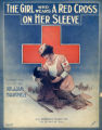 The girl who wears a red cross on her sleeve