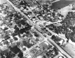 Aerial View of Roselle in 1947
