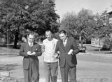 Leroy, IL Ministers making canvass, 1942