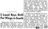 3 Local Boys Drill For Wings in South