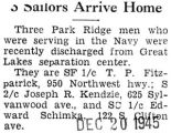 """3 Sailors Arrive Home"" -Title cut-off-"