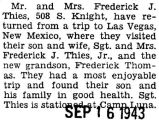 Frederick Thies' parents visited him and his family in Las Vegas