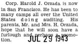 Orzada was in San Francisco and had been doing audits at camps all over the United States