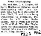 Army Thanksgiving