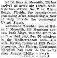 Ross Meredith went for reassignment in Miami Beach, Florida