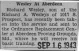 """Wesley at Aberdeen"""