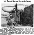 """Lt. Grant Butler Records Story"" (Photograph)"