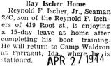 Ray Ischer Home
