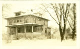 Photograph of the house at 420 S. Courtland in Park Ridge taken in the 1930s