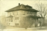 Old photograph of the house at 420 S. Courtland taken between 1910 and 1924