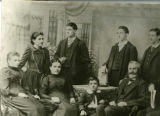 Portrait of Albert Krehbiel's family
