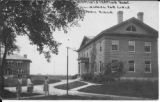 Illinois Industrial School for Girls, early image of Administration Building (Straut School) to...