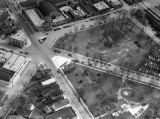 Park Ridge, Illinois Central Business District Aerial View 1951