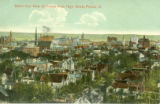 Bird's Eye View of Peoria from High Street, Peoria, Ill.