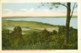 Scene from Grand View Drive, showing Farms and Illinois River, Peoria, Ill.  221247