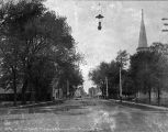 Lockport St Looking West 1904