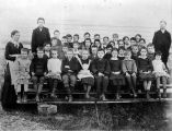 Plainfield Consolidated School 1883-84 Grade School photo