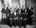 Young Men at Mottinger's Studio 1890s
