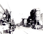 South Chicago - 92nd Street view east from Commercial Avenue, c 1925
