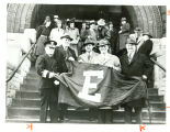 "U. S. Steel South Works Received ""E"" Pennant, 1942"
