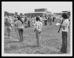 Quincy High School Marching Band Practice